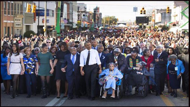 Selma March Commemoration with President Barack Obama