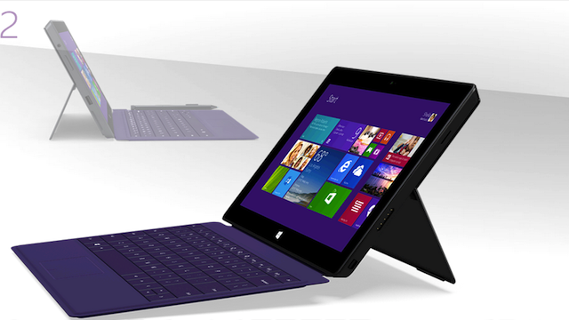 Heart of a laptop. Body of a tablet, says Microsoft .