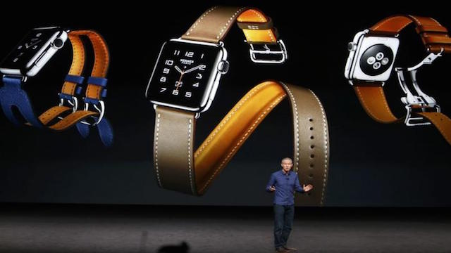 Apple Watch with Hermes arm bands
