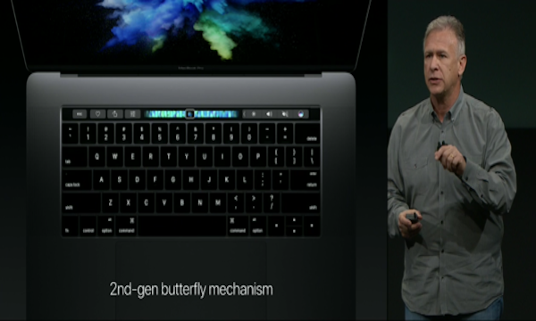 Mac Book Pro 2016 Butterfly Keyboard