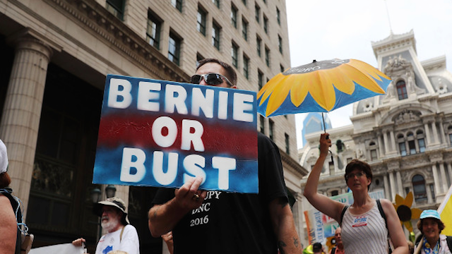 """Bernie of Burst"" defiant ahead of DNC Convention in Philadelphia"