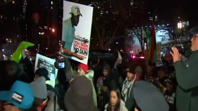 Reaction on Eric Garner Case No Indictment Announcement on December 3, 2014  - I Can't Breathe