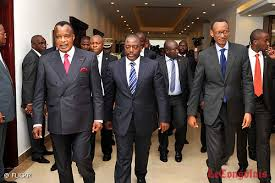 Sassou Nguesso, Joseph Kabila, and Paul Kagame: Seeking to change the constitutions of the countries to remain in power