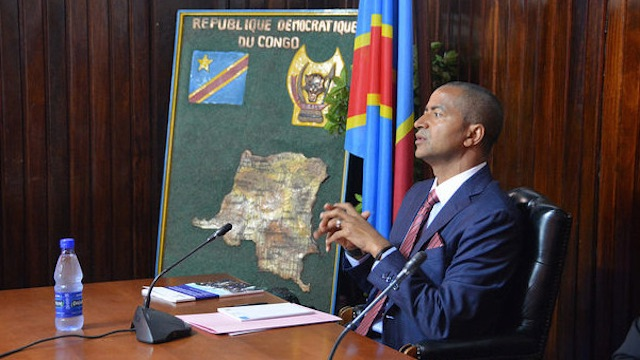 Congolese opposition leader Moise Katumbi, when he was still  Governor of Katanga Province