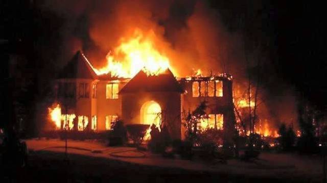 President Joseph Kabila's private residence in North-Kivu set ablaze on Dec 25, 2017