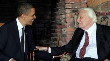 Billy Graham  with President Barack Obama