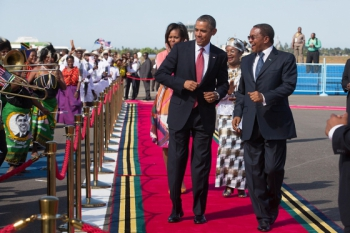 Barack Obama, Tanzania, July 1, 2013