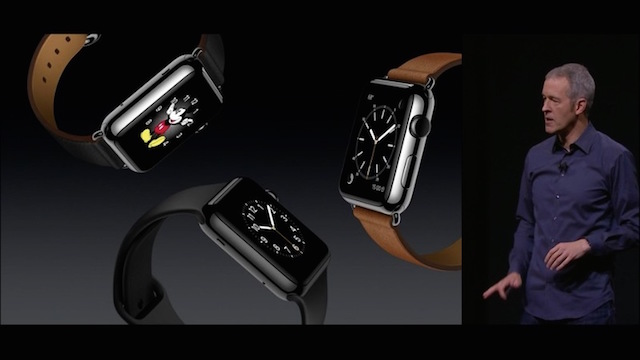 Apple Media Event September 9, 2015: New watches with Hermes