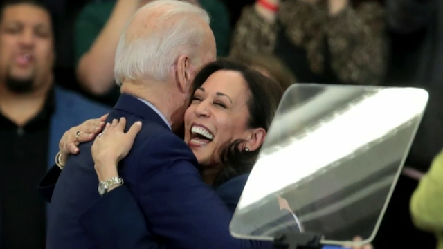 Joe Biden and Kamala Harris, first woman, first Black person, and first Asian American to become the Vice-Pfesident of the United States of America