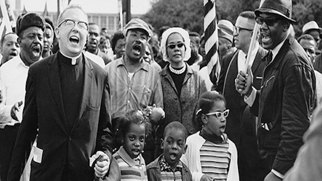 Selma March with Martin Luther King, Jr