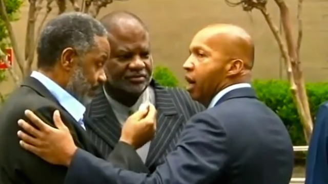 Anthony Ray Hinton and His Lawyer