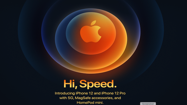 Apple Oct 13, 2020 Event: iPhone 5G is iPhone 12