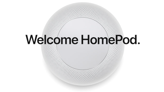 Apple Home Pod Intelligent Speaker