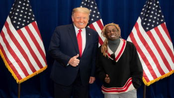 "Donald Trump and Lil Wayne,  Oct 28, 2020: ""Feeling Connected"""