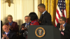 Cicely Tyson Awarded Presidential Medal of Freedom in 2016 by President Barack Obama