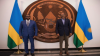 RDC: Fortunat Bisele and General Paul Kagame in Kigali, 2020