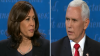 VP Candidate Mike Pince  and Kamala Harris Debate,  Oct 7, 2020